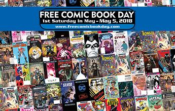 Free Comic Book Day 2018 Full List Of Comic Books Announced Free