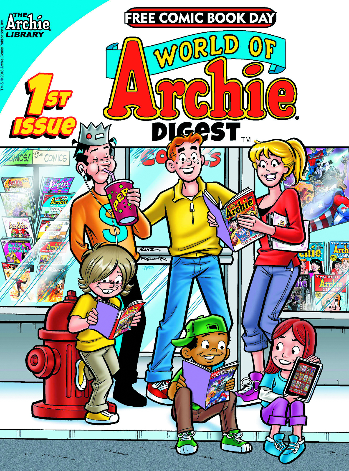 FCBD 2013 WORLD OF ARCHIE DIGEST