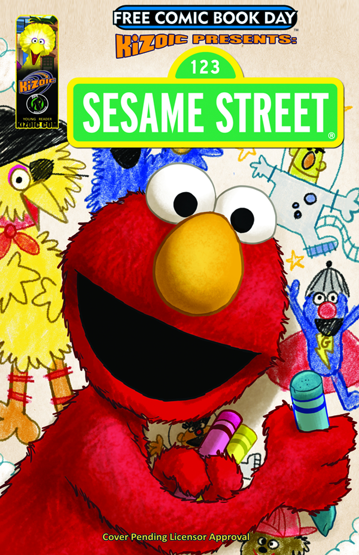 FCBD 2013 SESAME STREET & STRAWBERRY SHORTCAKE