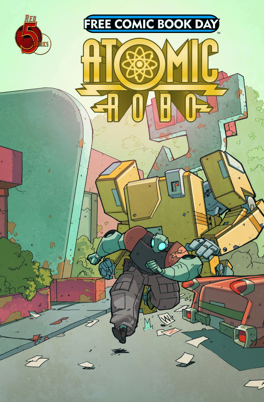 FCBD 2013 ATOMIC ROBO & FRIENDS