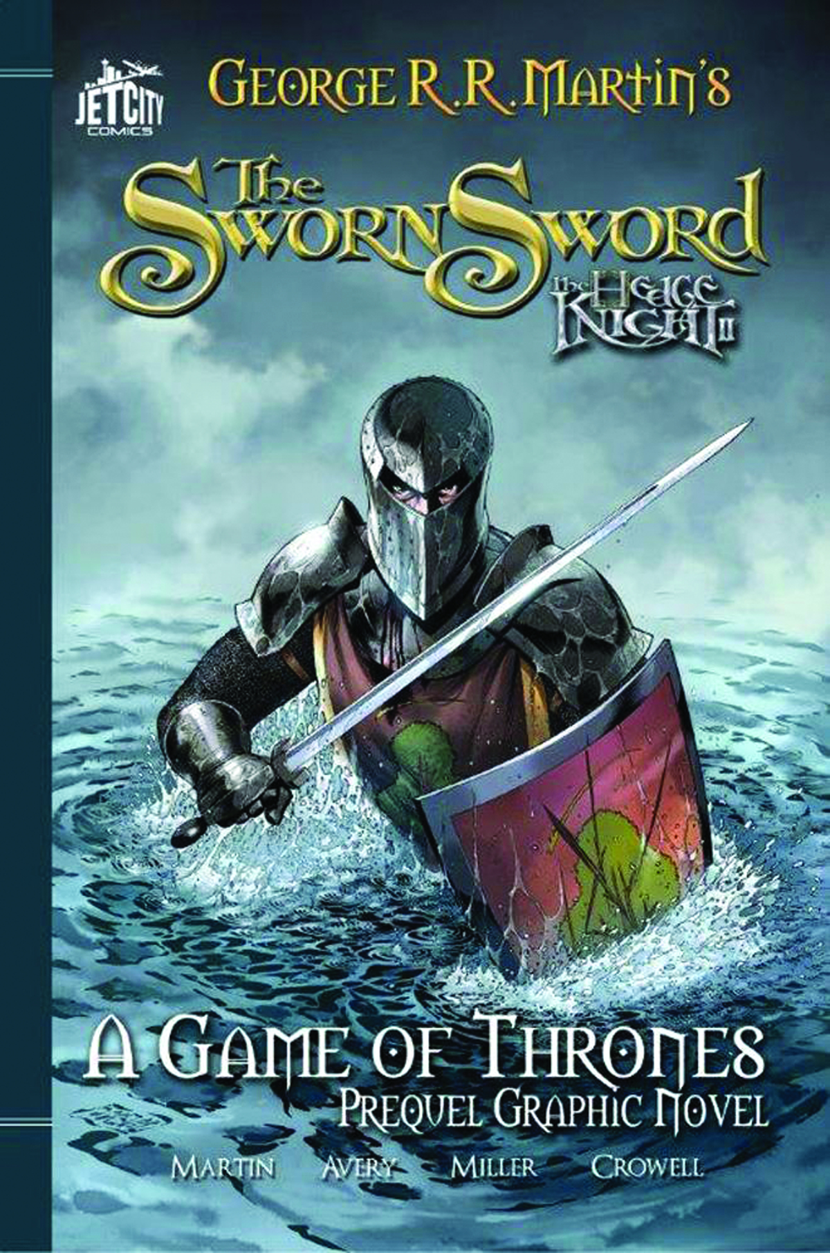 HEDGE KNIGHT JET CITY ED TP VOL 02 SWORN SWORD