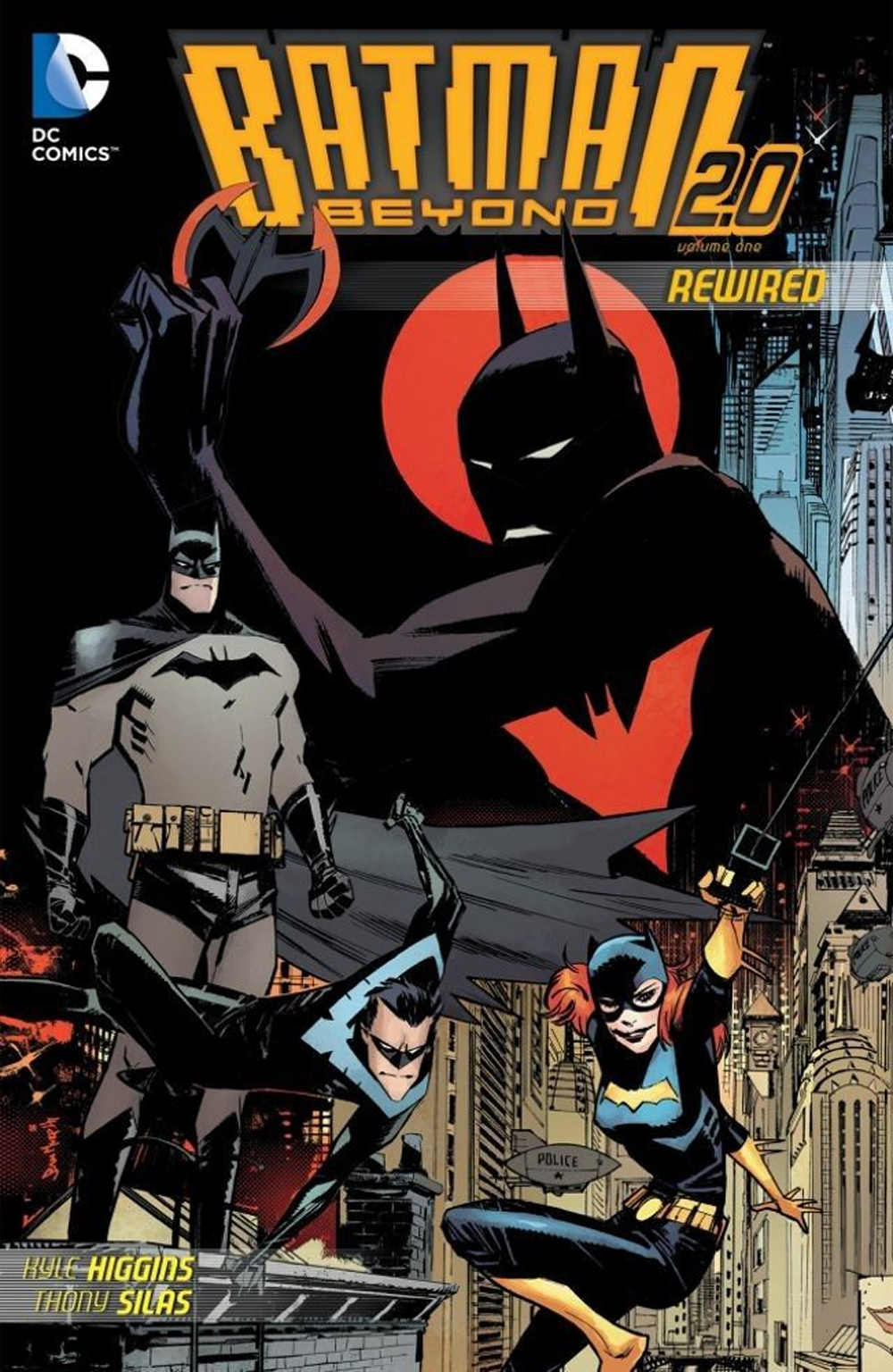 BATMAN BEYOND 2.0 TP VOL 01 REWIRED
