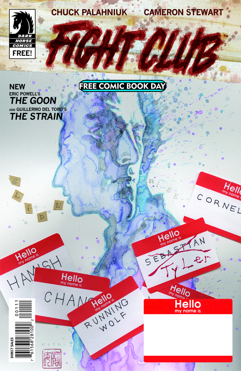 FCBD 2015 DARK HORSE FIGHT CLUB THE GOON THE STRAIN  (M