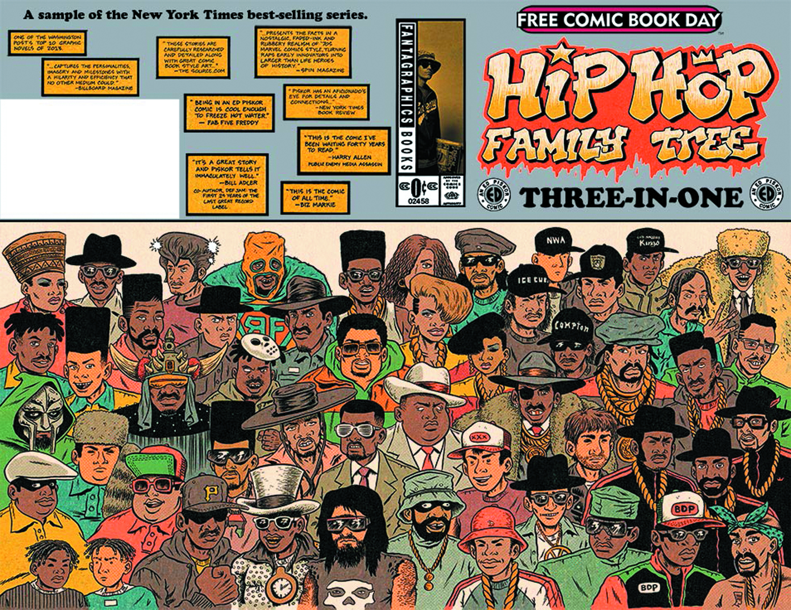 FCBD 2015 HIP HOP FAMILY TREE 3-IN-1 FEATURING COSPLAYERS (N