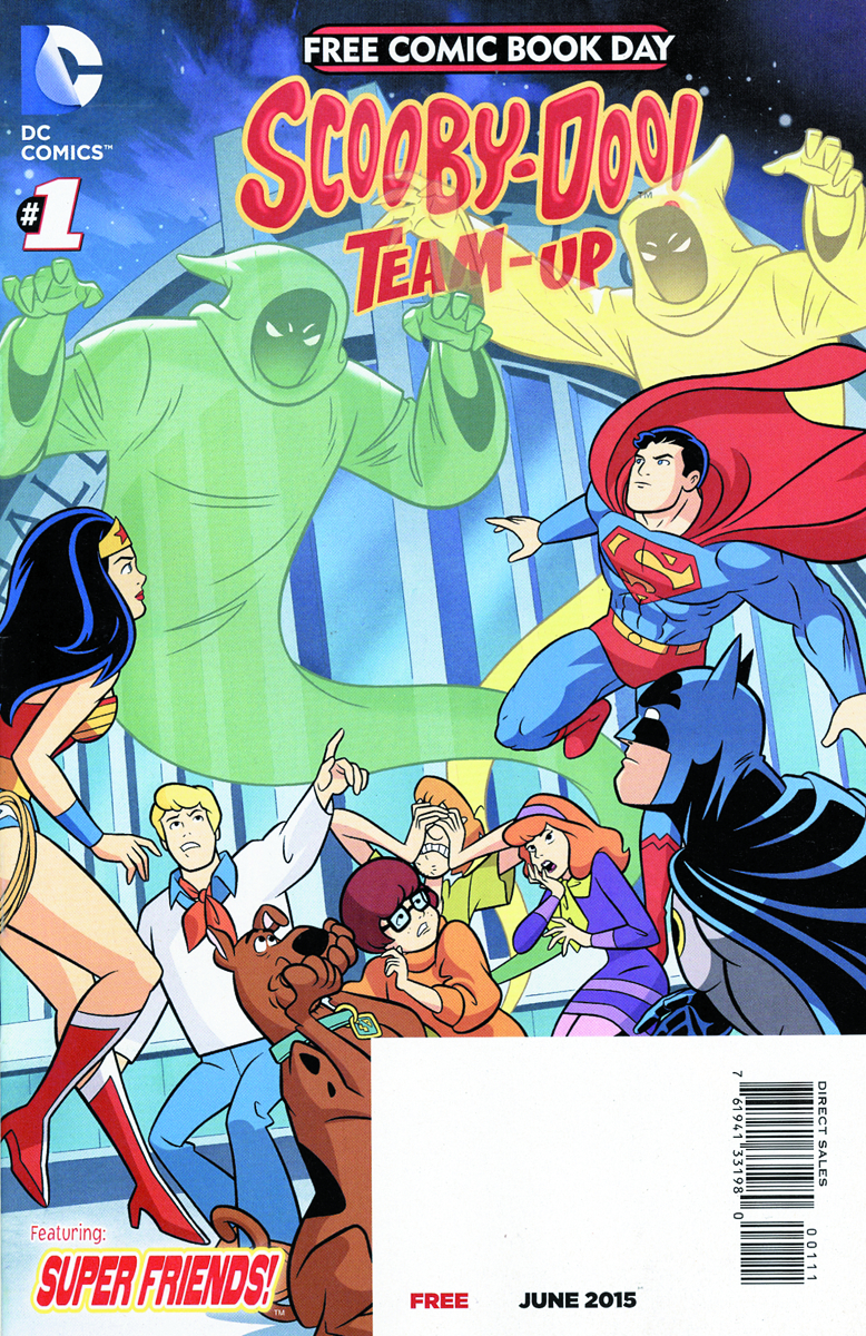 FCBD 2015 TEEN TITANS GO SCOOBY DOO TEAM UP