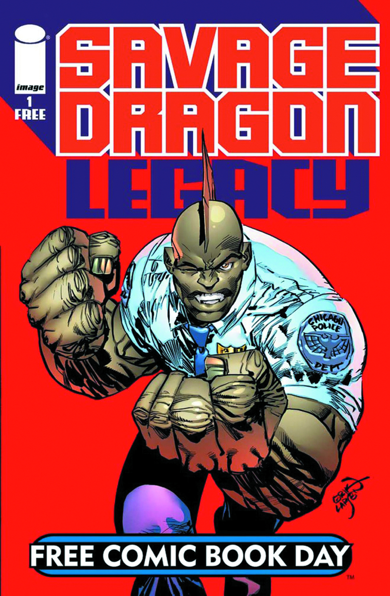 FCBD 2015 SAVAGE DRAGON LEGACY