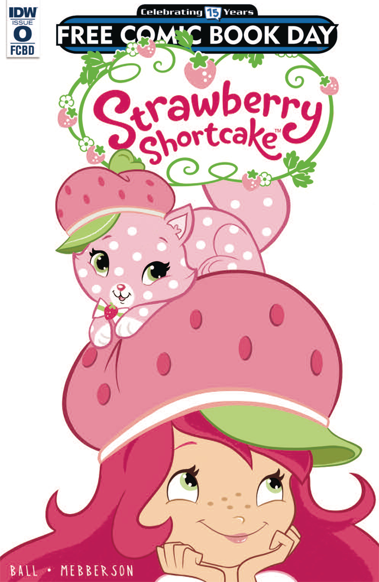 FCBD 2016 STRAWBERRY SHORTCAKE #0