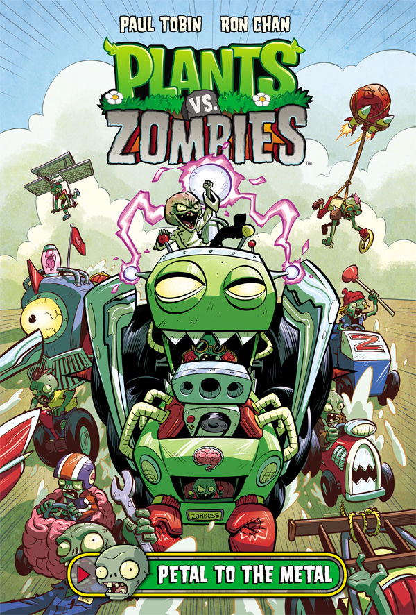 PLANTS VS ZOMBIES PETAL TO THE METAL HC