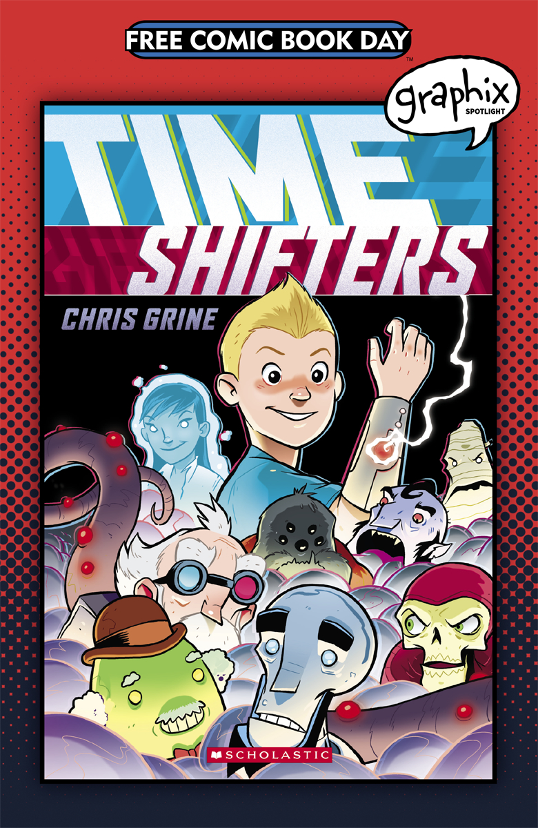 FCBD 2017 GRAPHIX SPOTLIGHT TIME SHIFTERS