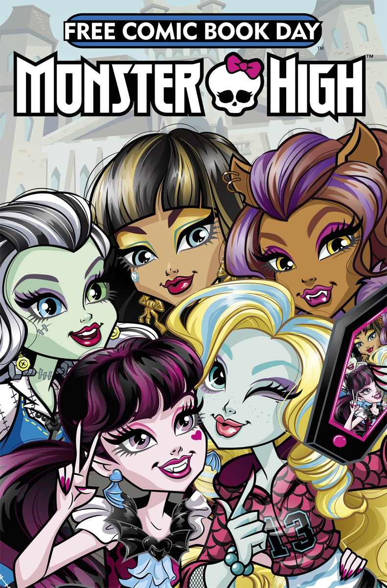 FCBD 2017 MONSTER HIGH