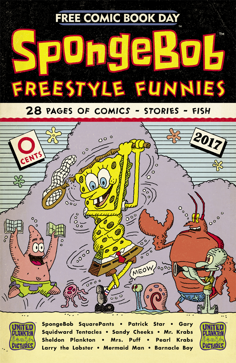 FCBD 2017 SPONGEBOB FREESTYLE FUNNIES