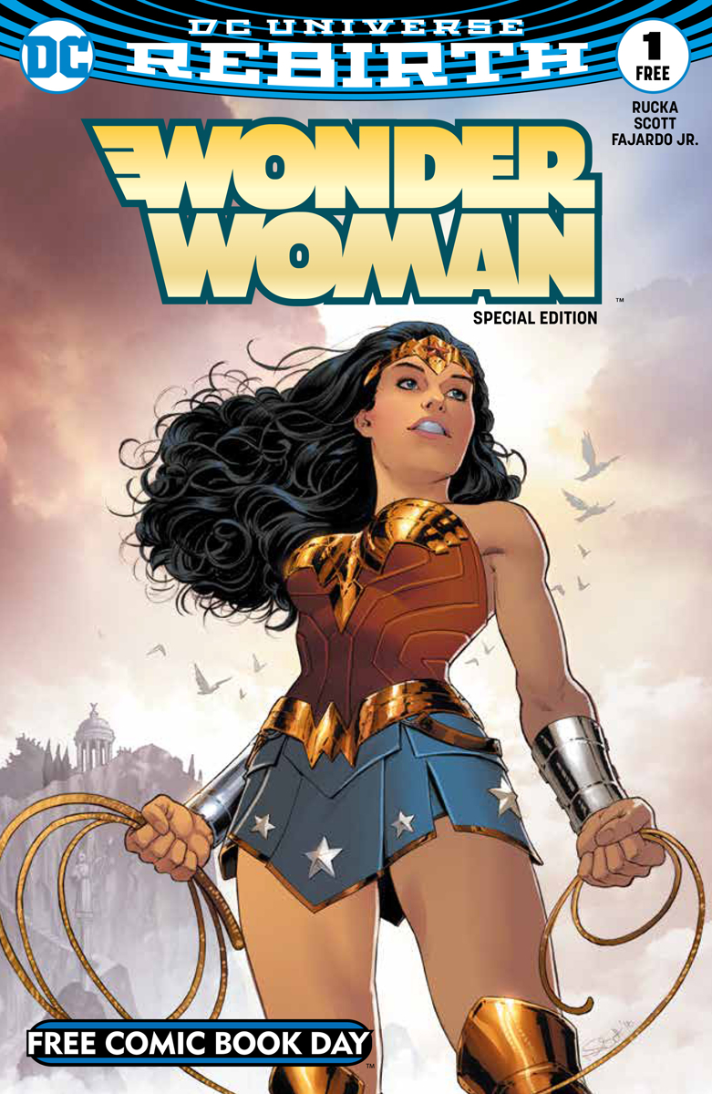 FCBD 2017 WONDER WOMAN #1 SPECIAL EDITION (Net)