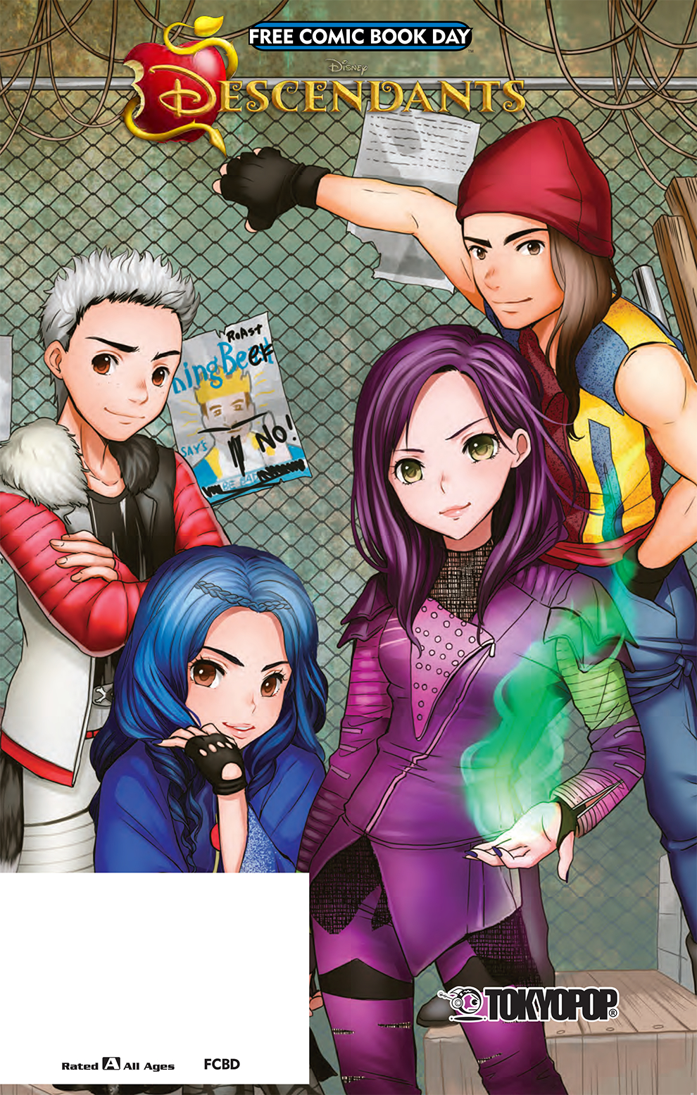 FCBD 2017 TOKYOPOP DISNEY DESCENDANTS DCOM #1