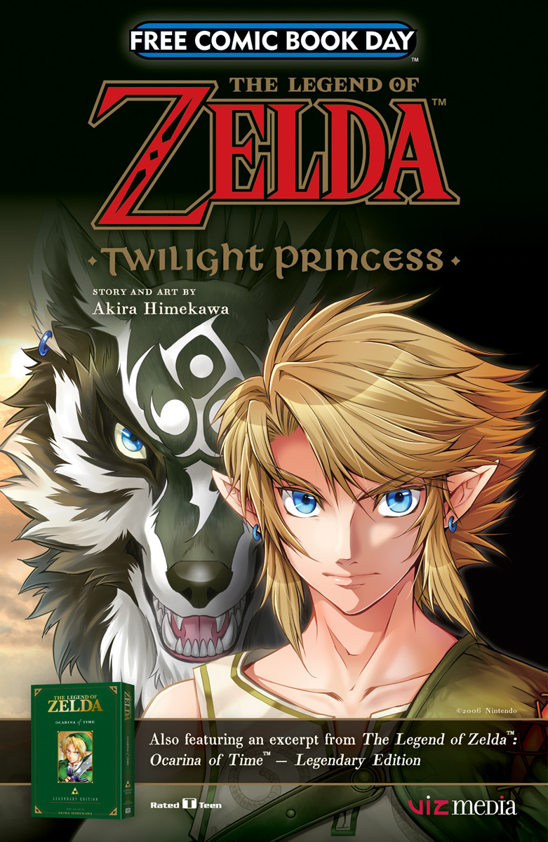 FCBD 2017 VIZ LEGEND ZELDA TWILIGHT PRINCESS OCARINA TIME