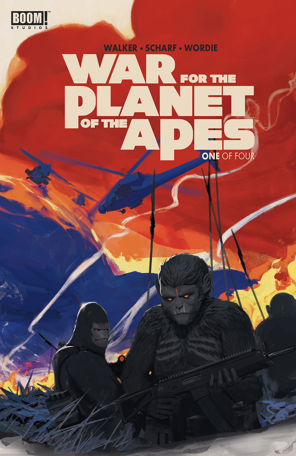 WAR FOR PLANET OF THE APES #1 (OF 4)
