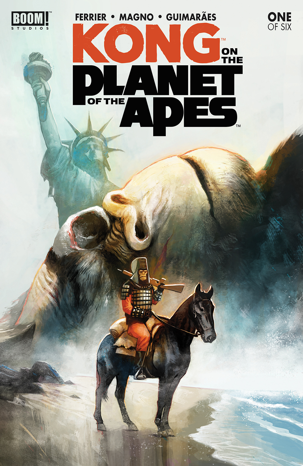 KONG ON PLANET OF APES #1