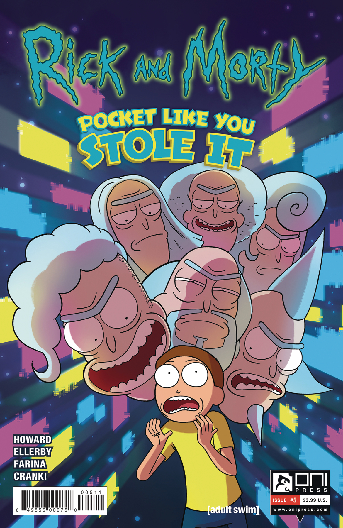 RICK & MORTY POCKET LIKE YOU STOLE IT #5