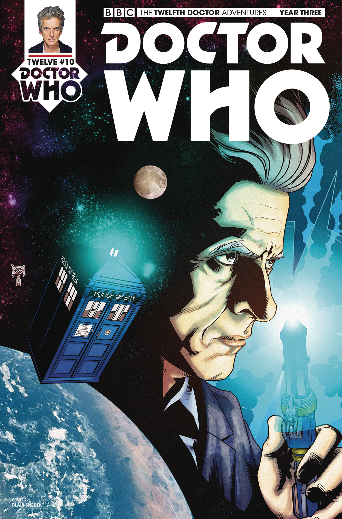 DOCTOR WHO 12TH YEAR THREE #11 CVR A SHEDD