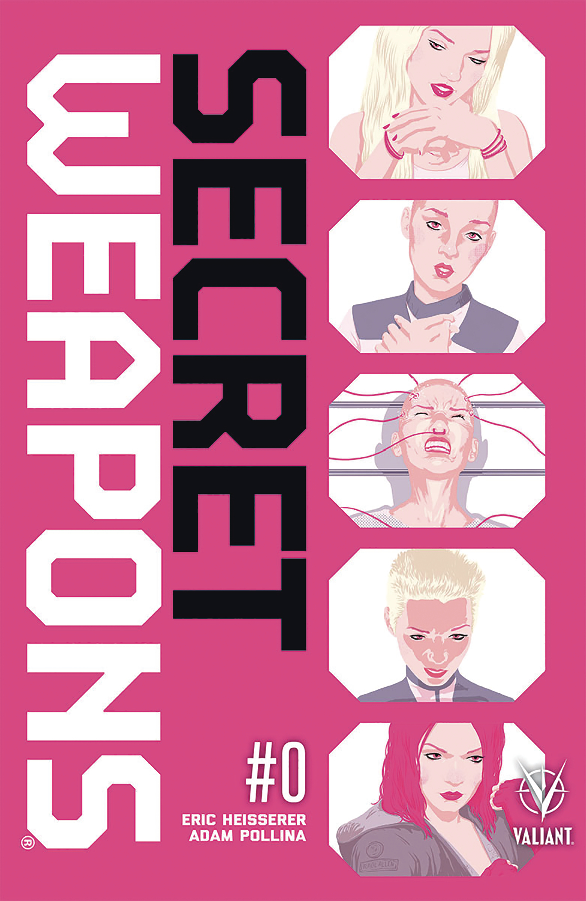 SECRET WEAPONS #0 CVR A ALLEN