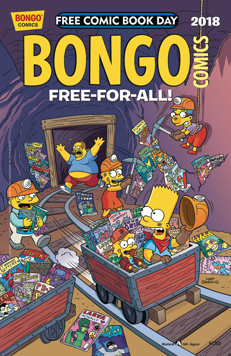 FCBD 2018 BONGO COMICS FREE-FOR-ALL