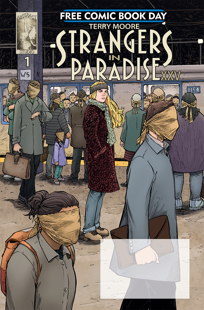 FCBD 2018 STRANGERS IN PARADISE XXV #1  (MR)