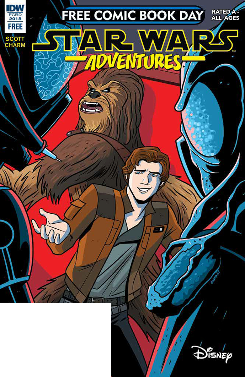 FCBD 2018 STAR WARS ADVENTURES