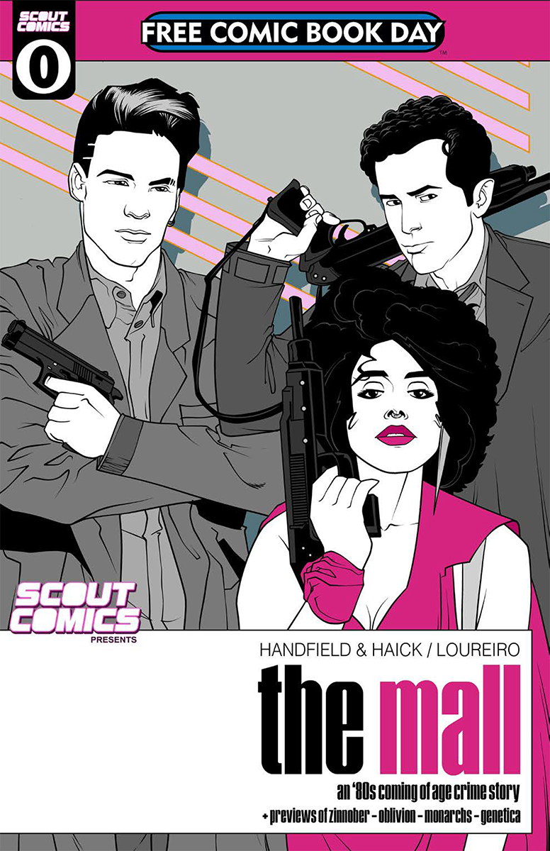 FCBD 2018 SCOUT COMICS PRESENTS THE MALL