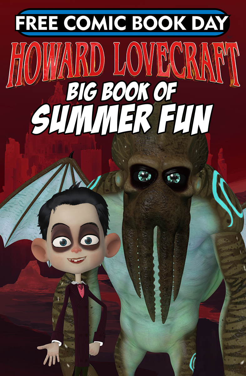 FCBD 2018 HOWARD LOVECRAFTS BIG BOOK OF SUMMER FUN