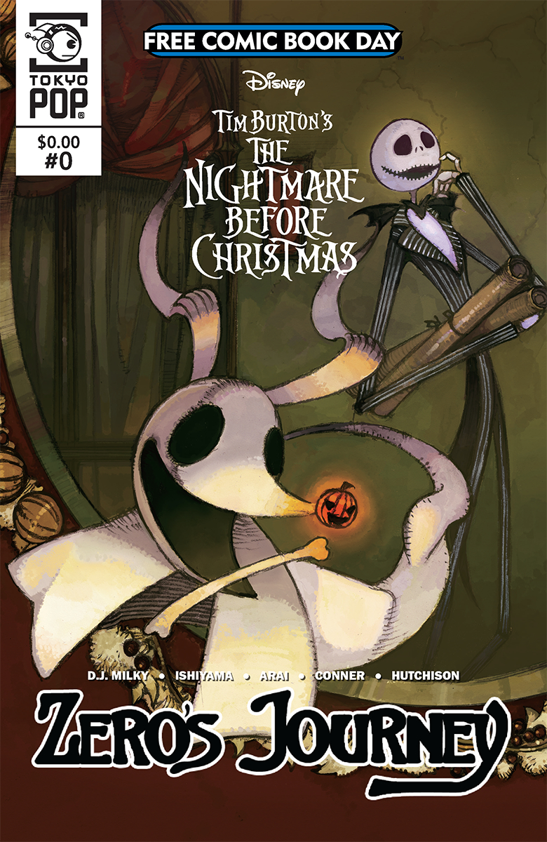 jan180043 fcbd 2018 nightmare before christmas zeros journey 0 free comic book day - The Nightmare Before Christmas Free Online