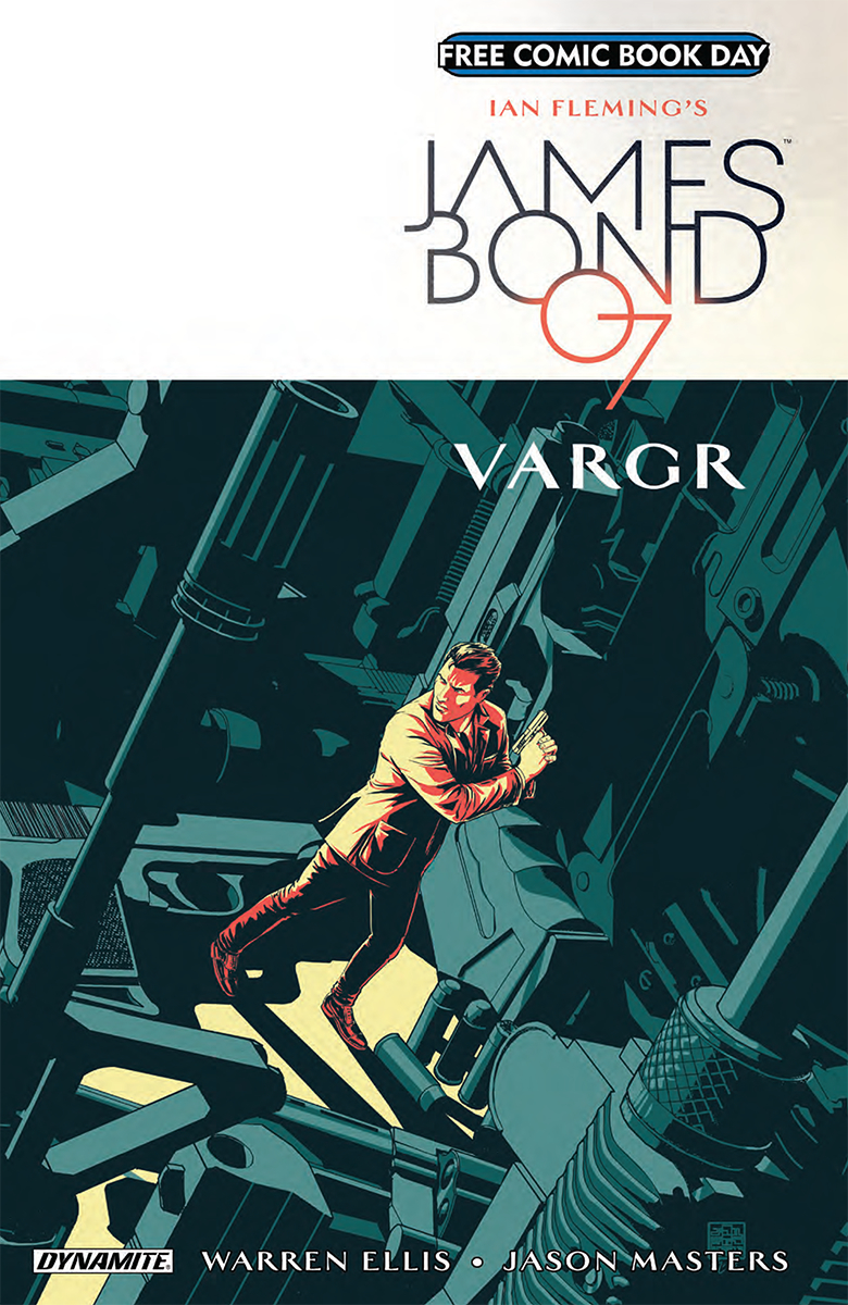 FCBD 2018 JAMES BOND VARGAR