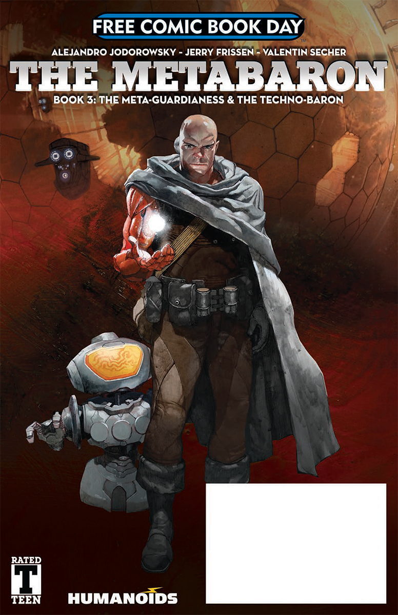 FCBD 2018 METABARON META GUARDIANESS AND TECHNO BARON