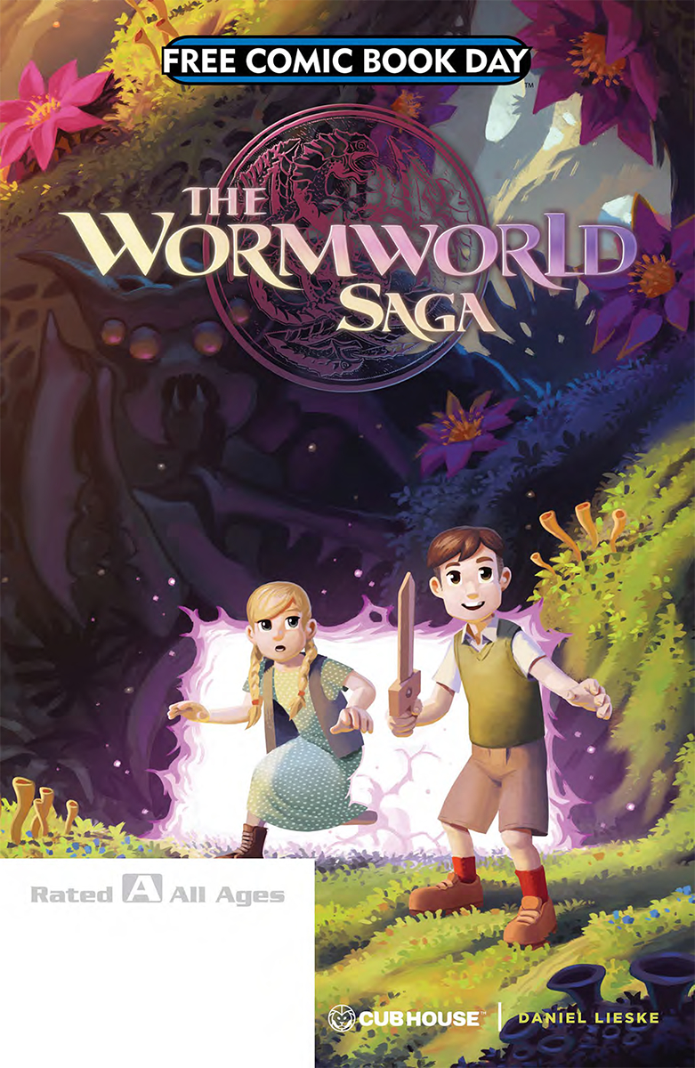 FCBD 2018 WORM WORLD SAGA