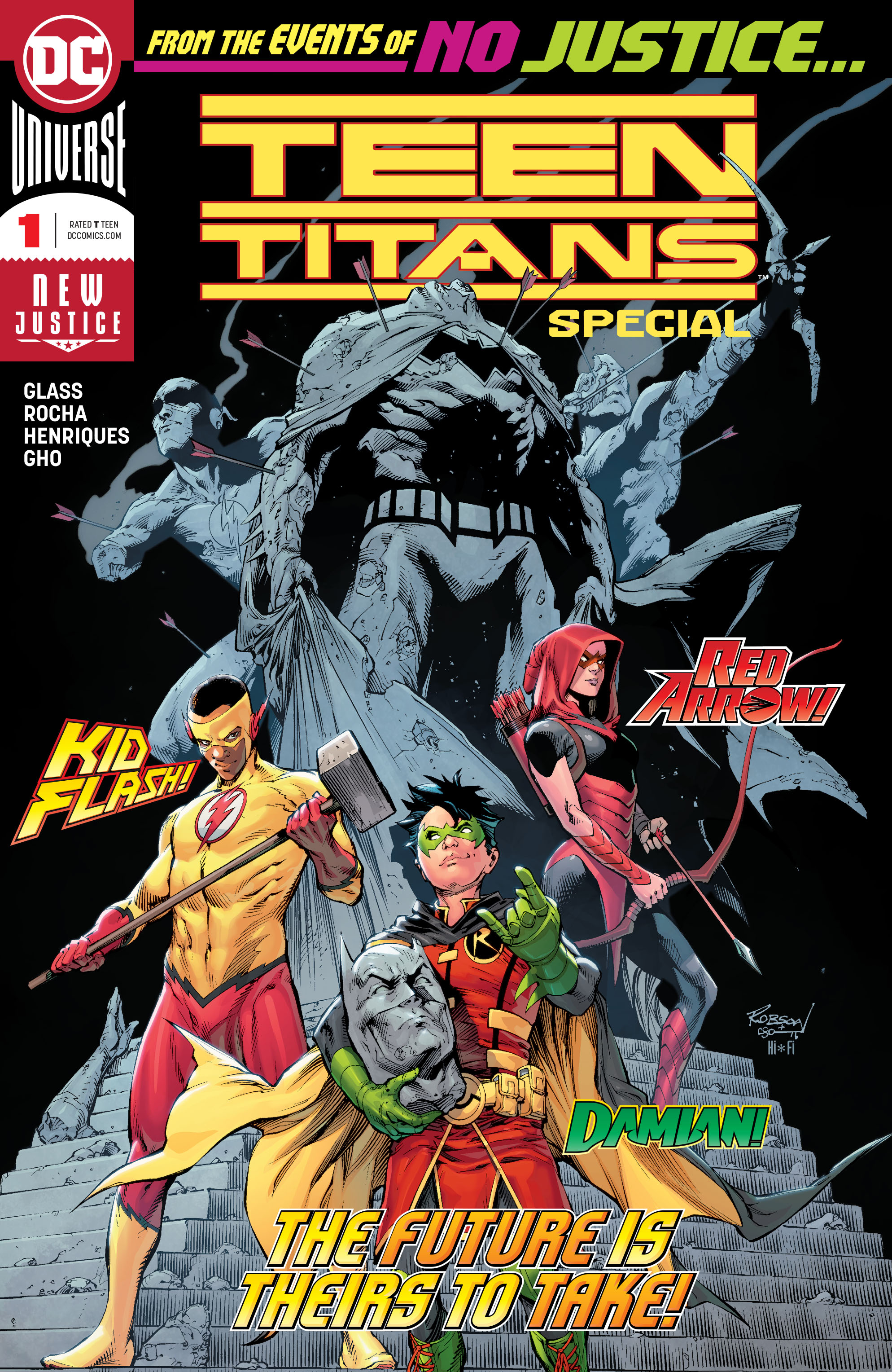 Titans comic book Teen