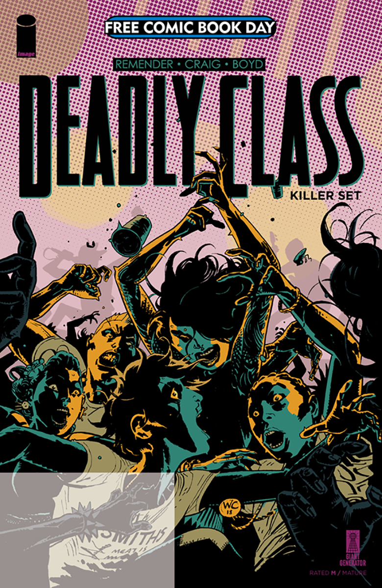 FCBD 2019 DEADLY CLASS KILLER SET (ONE-SHOT)  (MR)