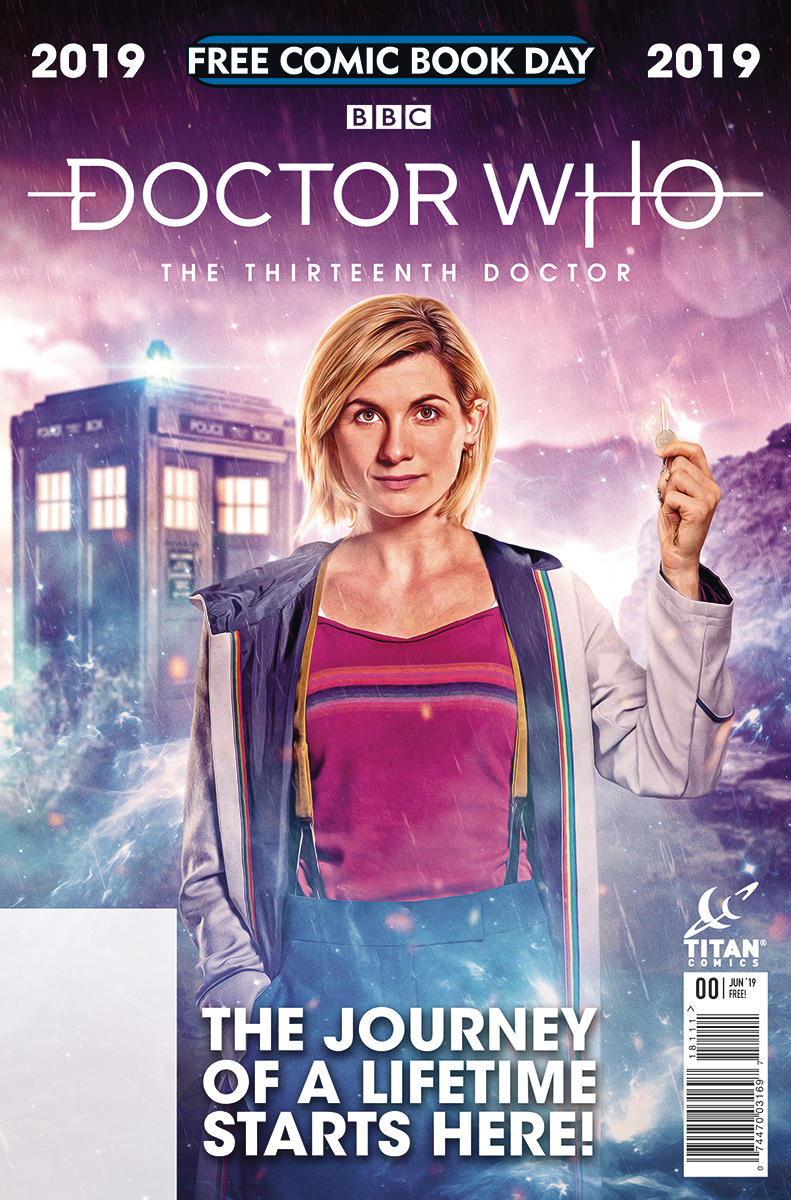 Doctor Who Christmas Special 2019 Free JAN190008   FCBD 2019 13TH DOCTOR   Free Comic Book Day