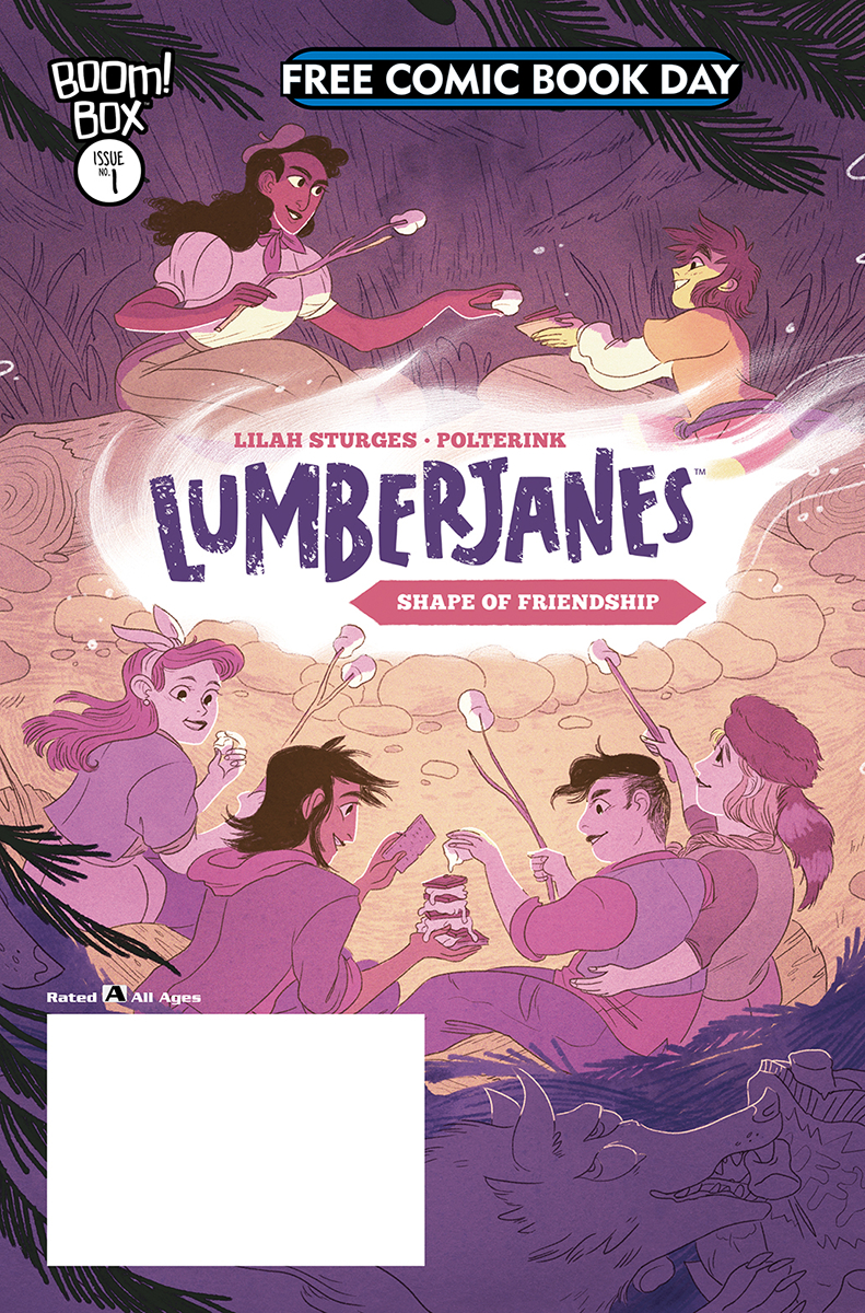 FCBD 2019 LUMBERJANES SHAPE OF FRIENDSHIP