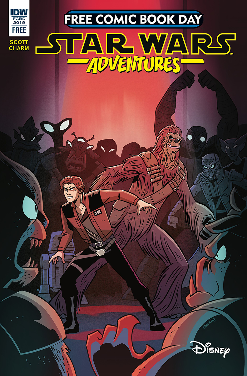 FCBD 2019 STAR WARS ADVENTURES DROID HUNTERS