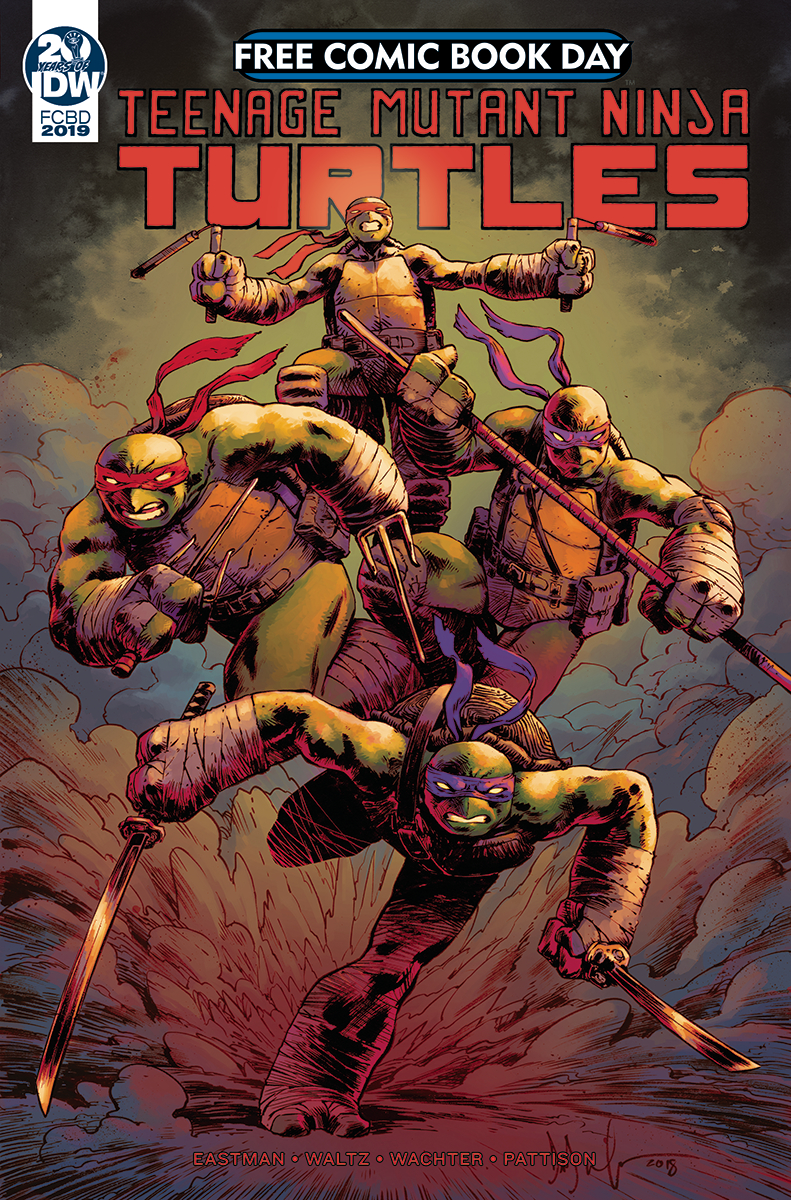 FCBD 2019 TMNT CASUALTY OF WAR