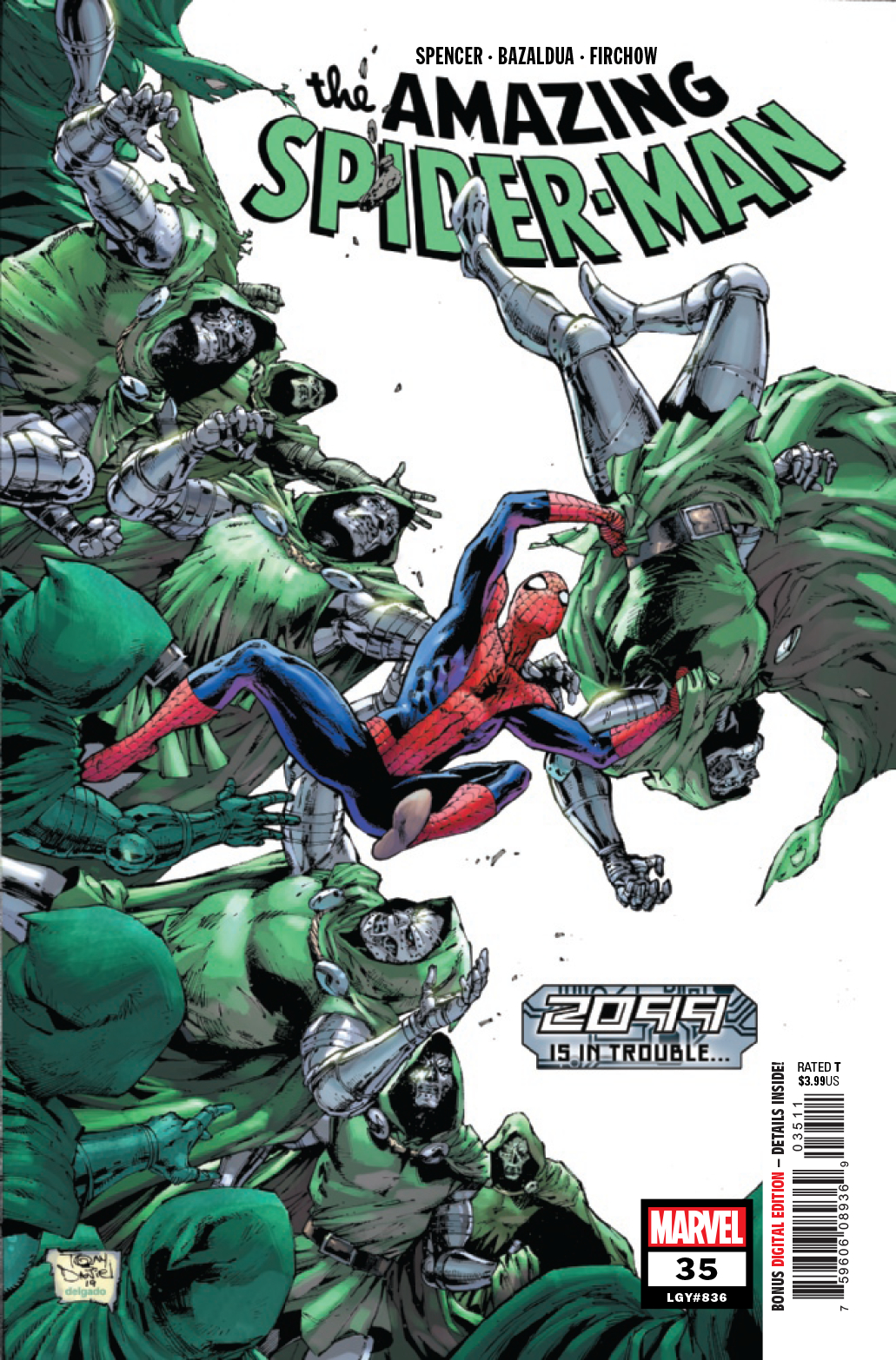 AMAZING SPIDER-MAN #35 2099