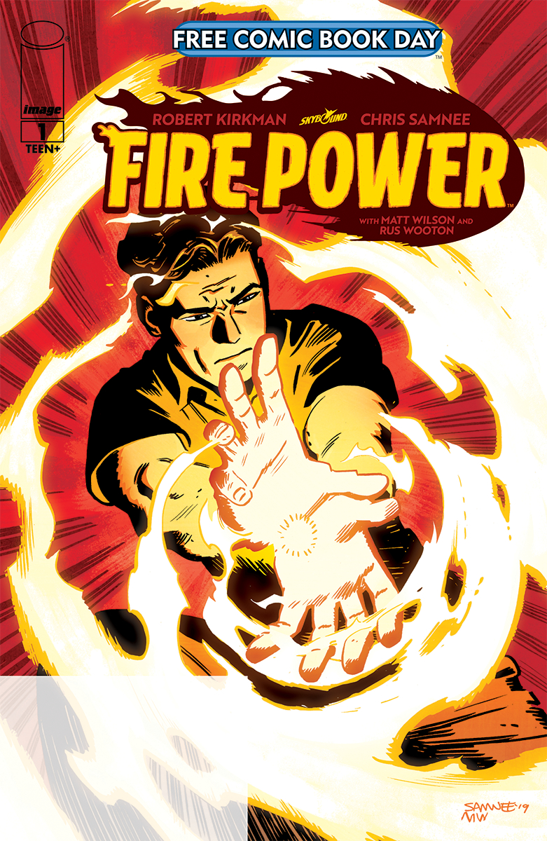 FIRE POWER #1 PROMO ED FORMERLY FCBD (Net)