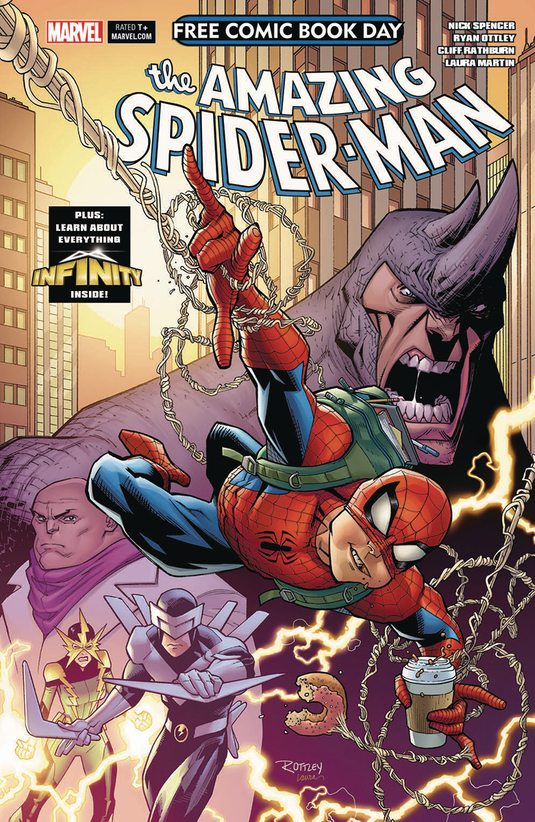 FCBD 2018 INFINITY WATCH AMAZING SPIDER-MAN