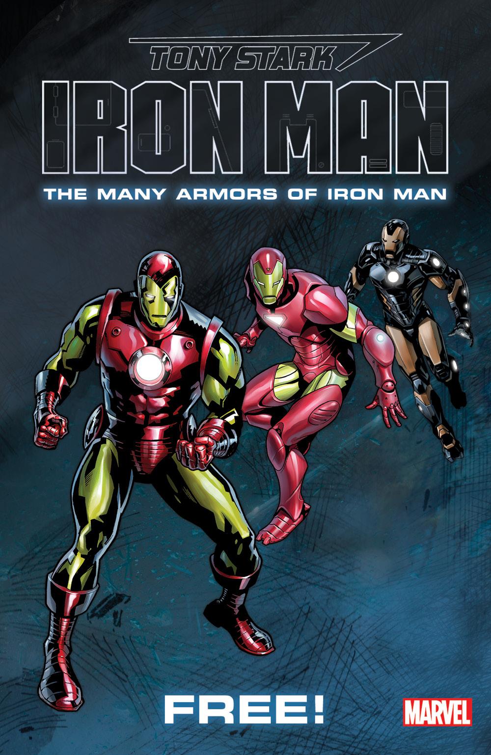 Mar188507 Tony Stark Iron Man Mini Comic Bundle Of 25 Free Comic Book Day