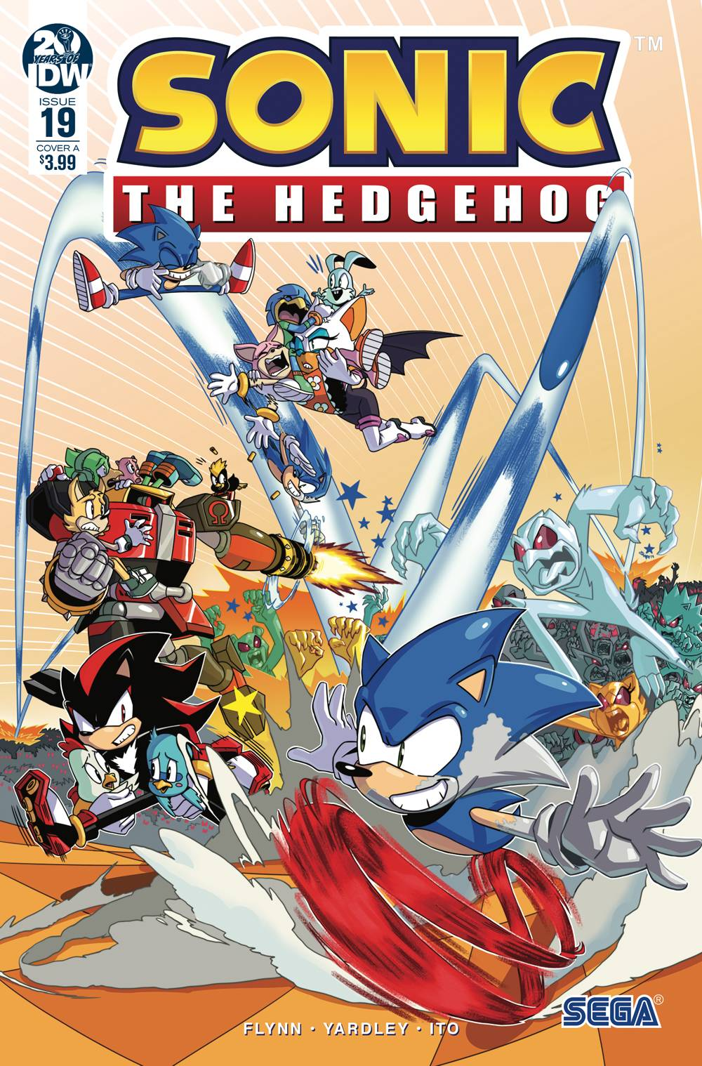 May190590 Sonic The Hedgehog 19 Cvr A Jampole Free Comic Book Day
