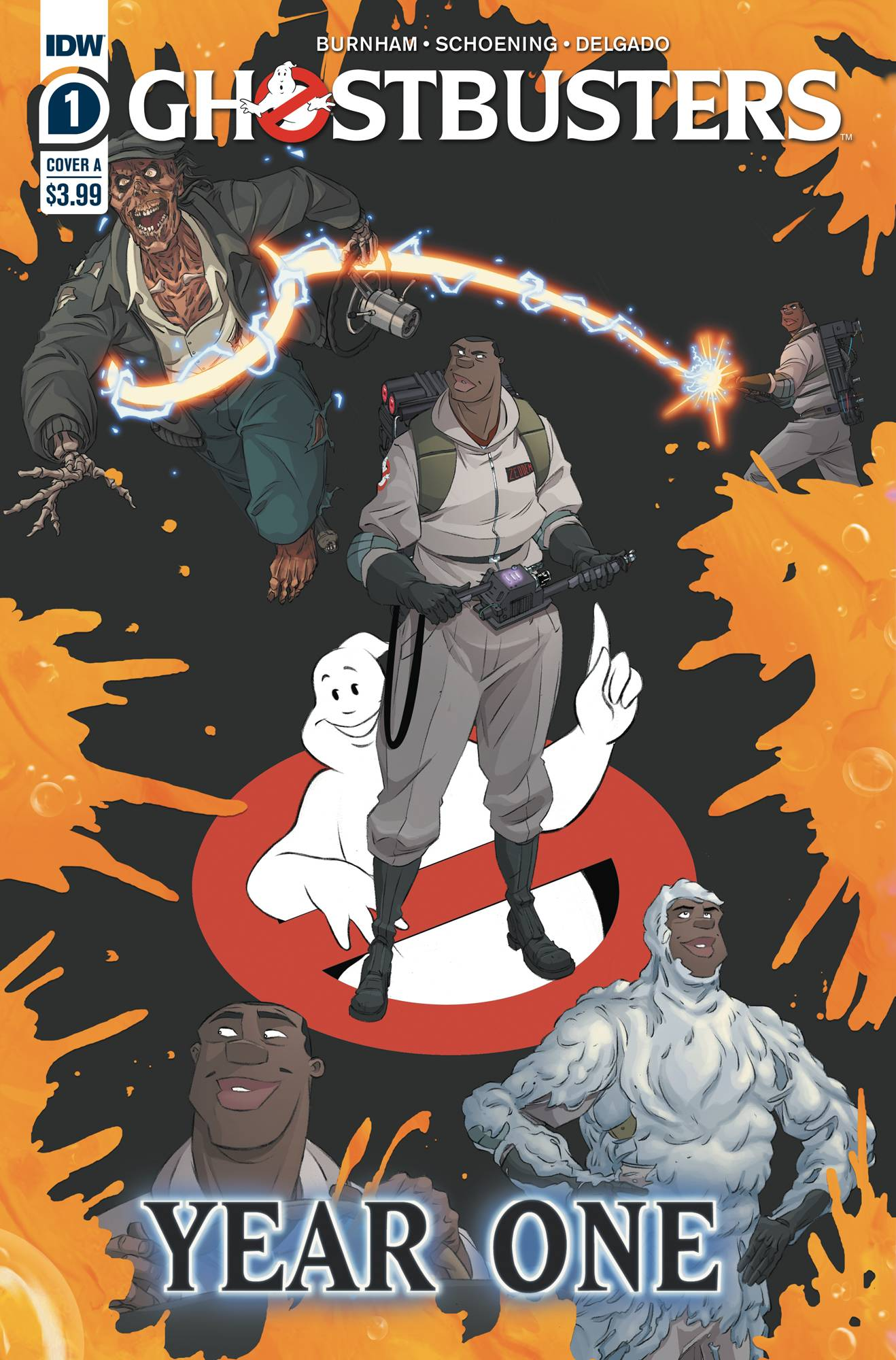 GHOSTBUSTERS YEAR ONE #1 (OF 4) CVR A SHOENING
