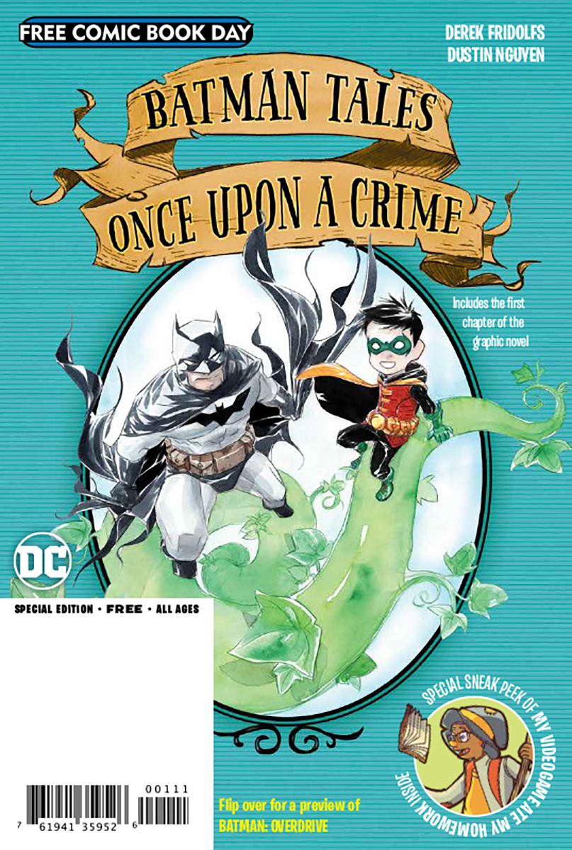 FCBD 2020 BATMAN OVERDRIVE ONCE UPON A CRIME FLIPBOOK (Net)
