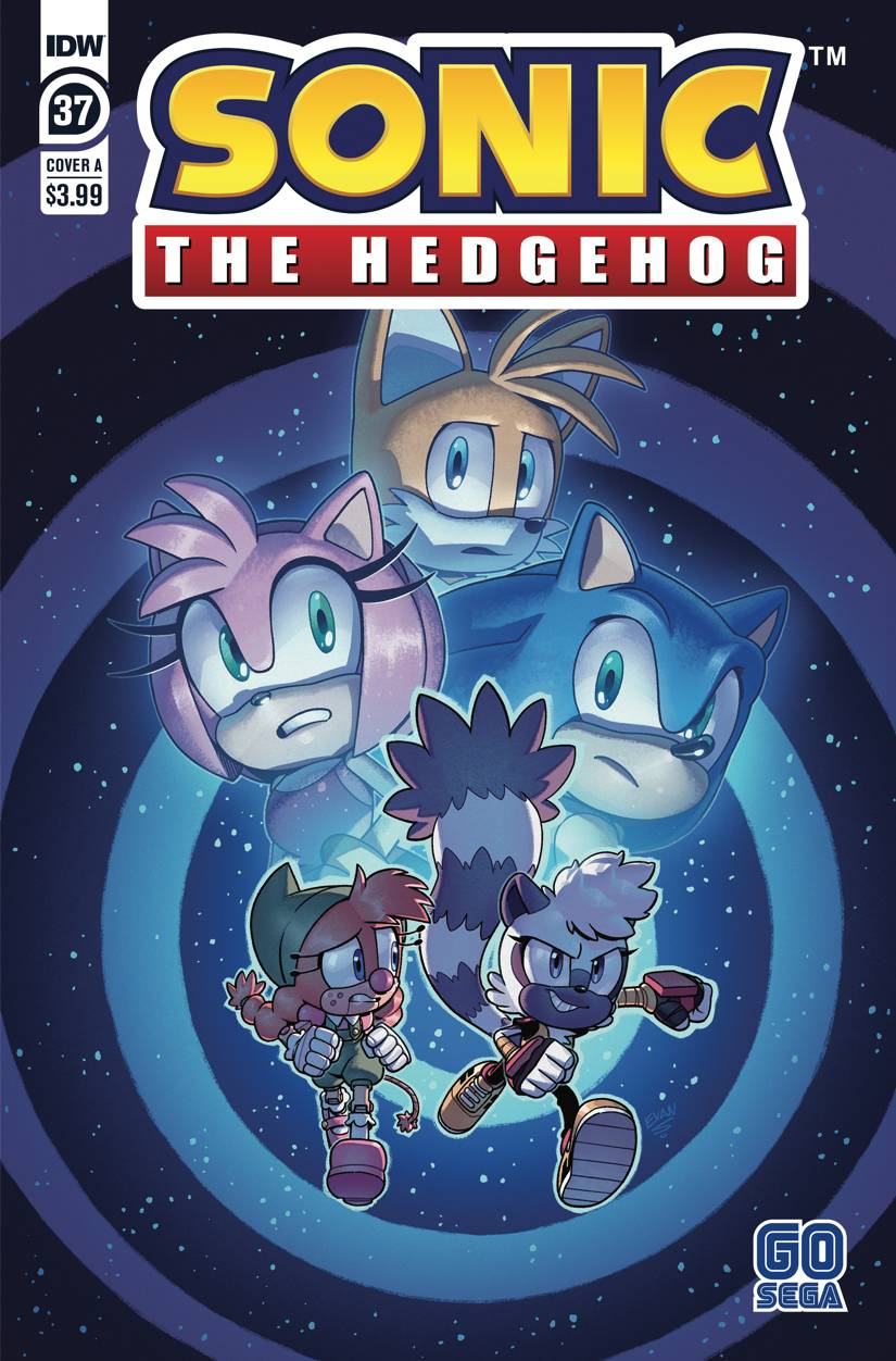 SONIC THE HEDGEHOG #37 CVR A EVAN STANLEY
