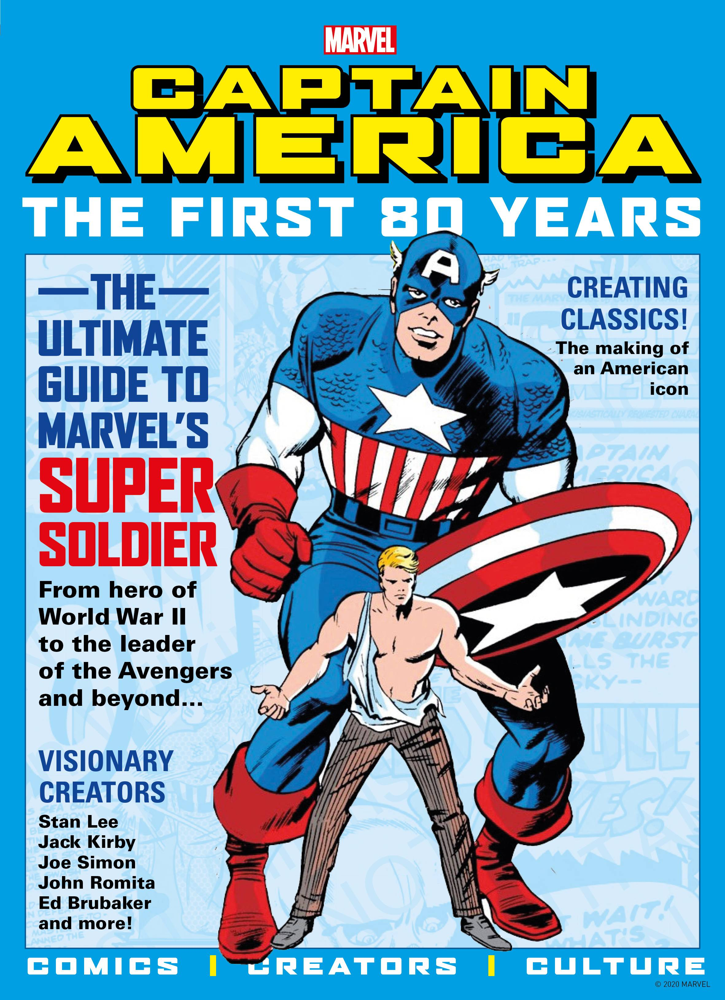 CAPTAIN AMERICA FIRST 80 YEARS SC NEWSSTAND