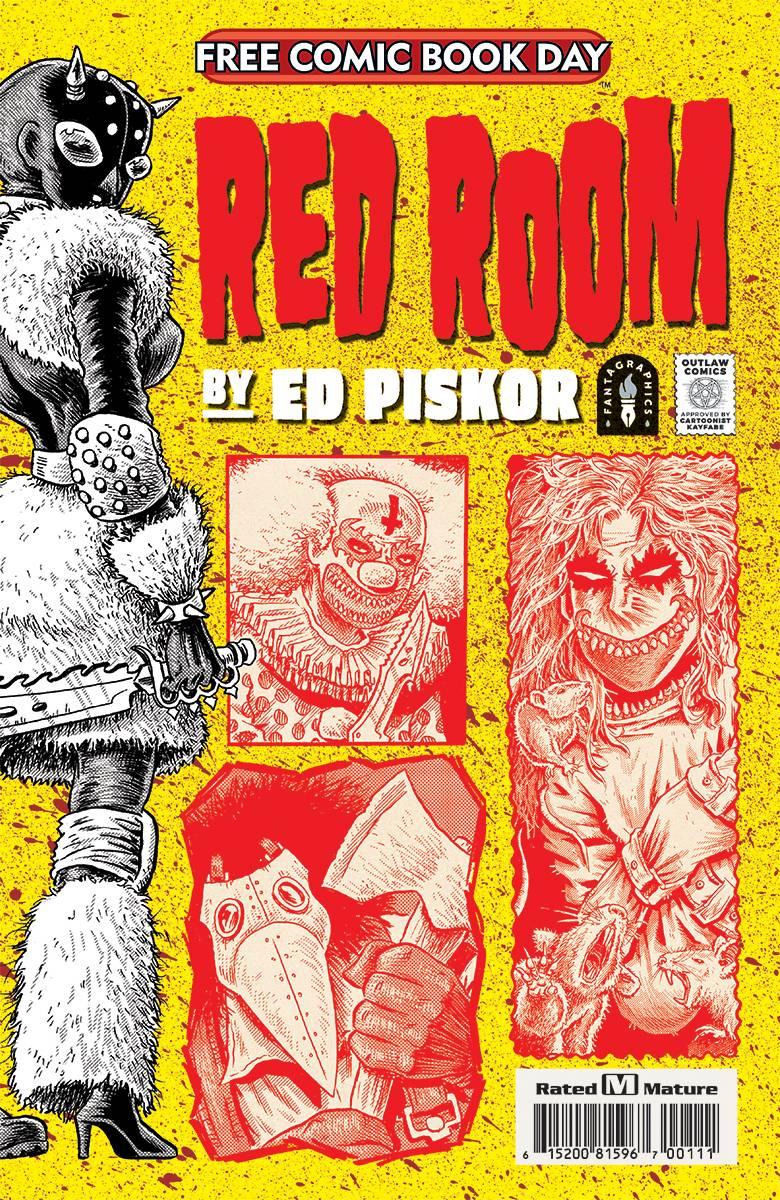 FCBD 2021 RED ROOM FCBD EDITION  (MR)