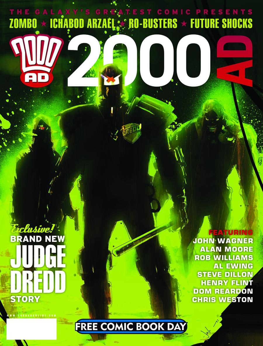 STK459888 Free Comic Book Day 2012: Reviews!