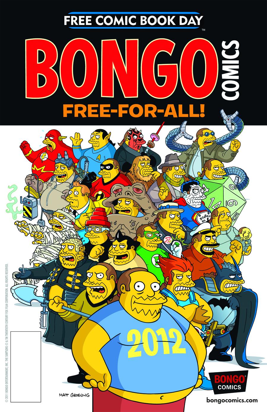 STK460618 Free Comic Book Day 2012: Reviews!